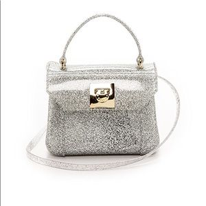🎀 FURLA Crossbody Candy Bon Bon Mini Glitter